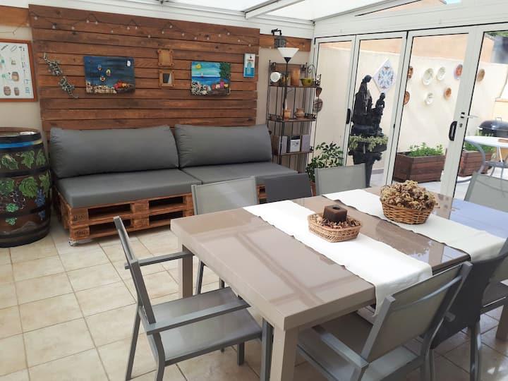 Casa ideal para familias entre el mar y la montaña