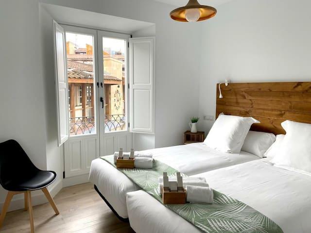 Habitación Doble en 7Kale B&B / Casco Viejo Bilbao