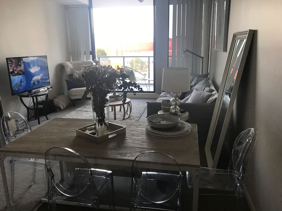 Open plan dining / living area