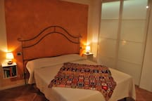 The Bedroom - The comfortable double bed