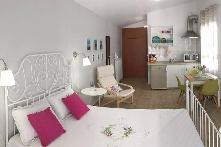 Sunny Couples Studio Apartment