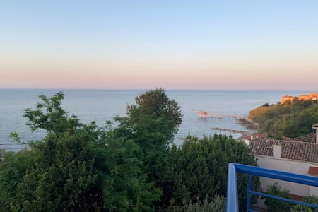 appartamento vista mare, sulla Costa dei Trabocchi