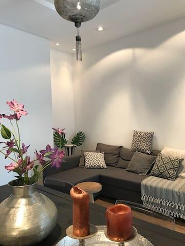 Appartement met tuin in de stad, vlakbij amsterdam - Haarlem - Wohnung