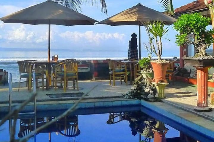 Private  home, on Bali, Candidasa. max 4.per. - Manggis - Apartament