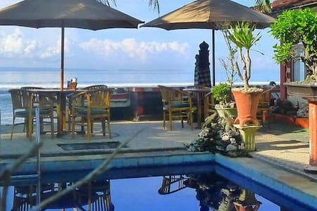Private  home, on Bali, Candidasa. - Manggis