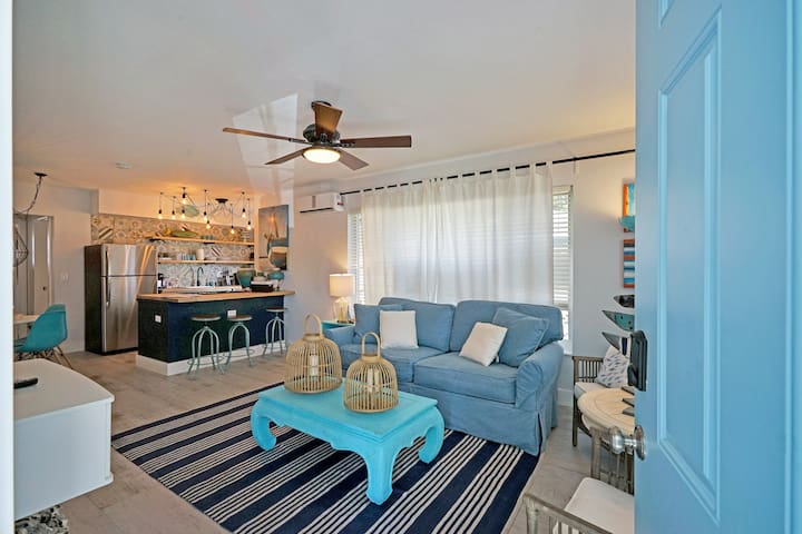 NEW! Beach getaway - Private backyard!