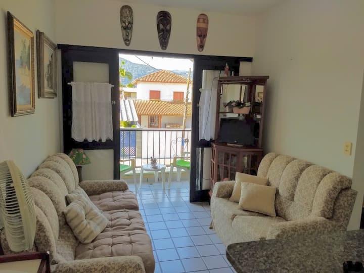 Apartamento Itagua Ubatuba há 4 quadras do Aquário