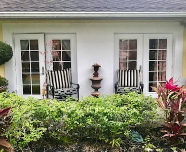 2 Room Suite W/ Private Entrance - Loxahatchee - Bed & Breakfast