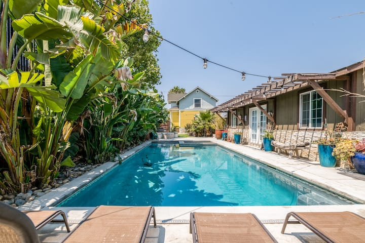 Victorian Home w/ Heated Pool in Urban Oasis