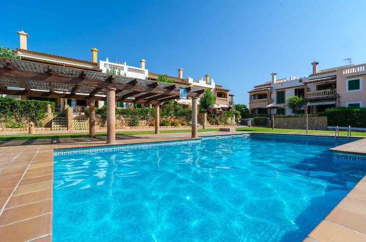 BALCO DES TRENC - Wonderful apartment with shared pool near the beach.