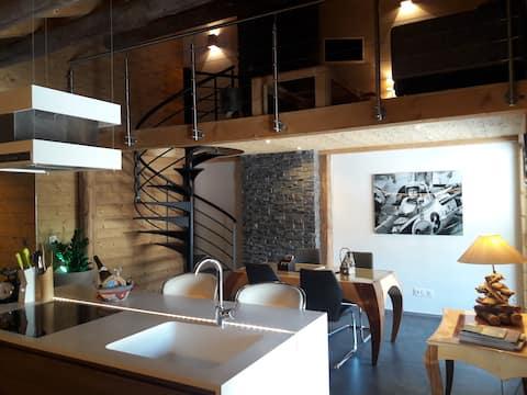 Duplex idéal déplacements professionnels (75 m²)