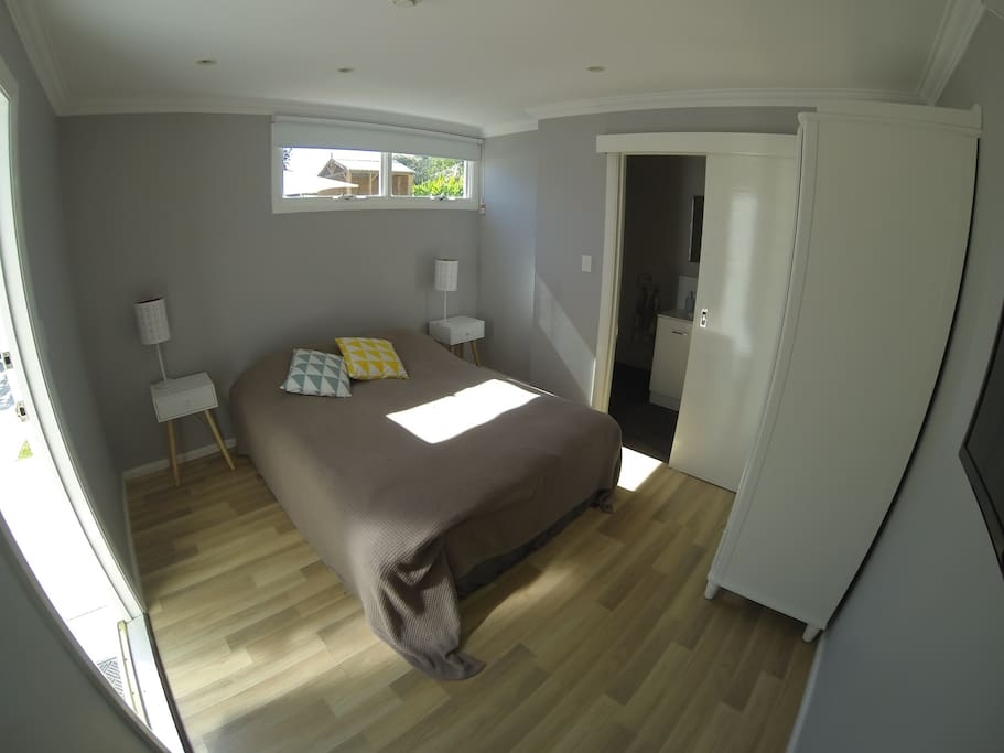 Newly built in December 2015 with all new furniture and a queen size bed.