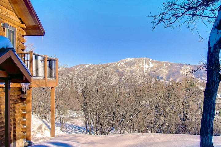 Dog Friendly, Cabin-Style One of a Kind Retreat w/Deck, Amazing Views, Private Entrance, 7m to Town