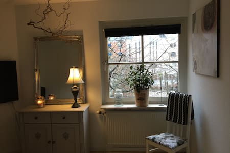 Bright cozy room in a modern building - Frederiksberg