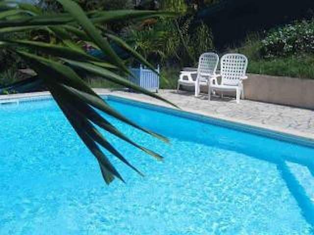 studio avec piscine au sud - Rivière-Salée - Apartamento