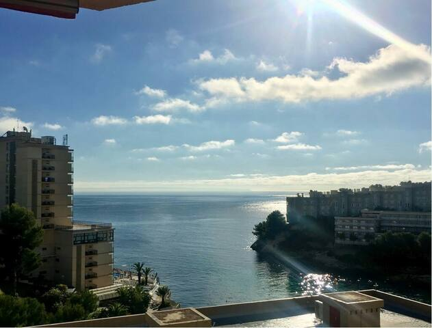 Breathtaking sea views, direct sea and pool access