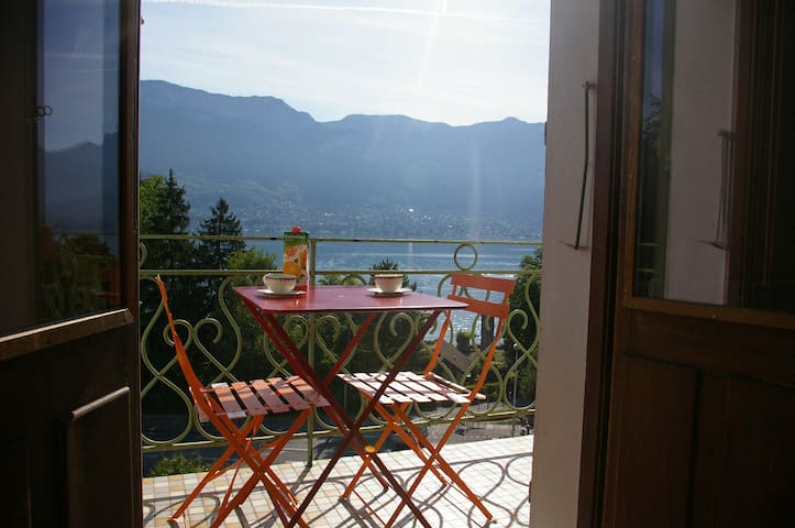Charming 30m² studio close to the lake - Sévrier - Apartamento