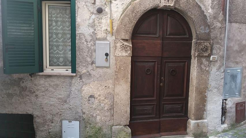 Casa a Guarcino: sagre, scampagnate, natura, relax - Guarcino - Huoneisto
