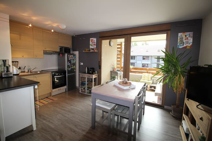 Appartement 42m² vue Mont-Blanc - Sallanches - Lägenhet