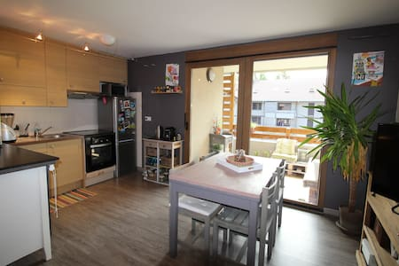 Appartement 42m² vue Mont-Blanc - Sallanches - Apartmen