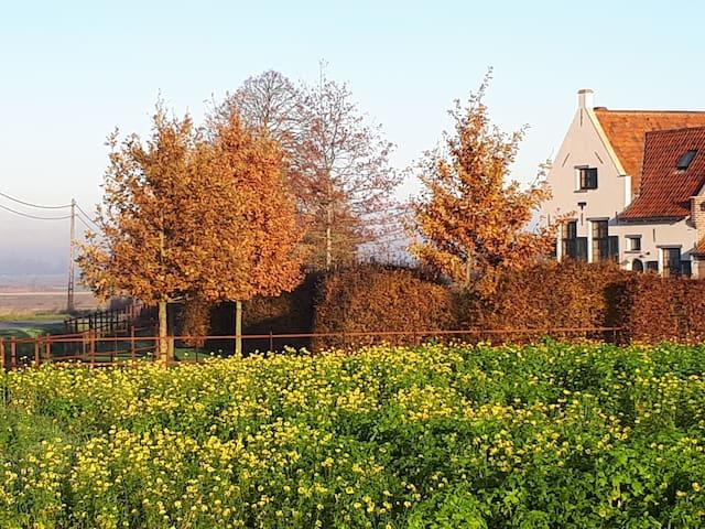 Nieuw: Unieke/Charmante woning tussen de velden