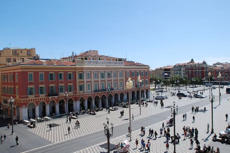NICE CENTRE STUDIO PANORAMIC VIEW ON PLACE MASSENA - Nizza