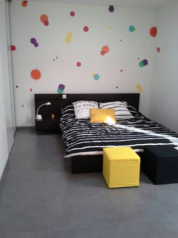 chambres dans une maison urbaine proche de l'erdre - Nantes - Huoneisto