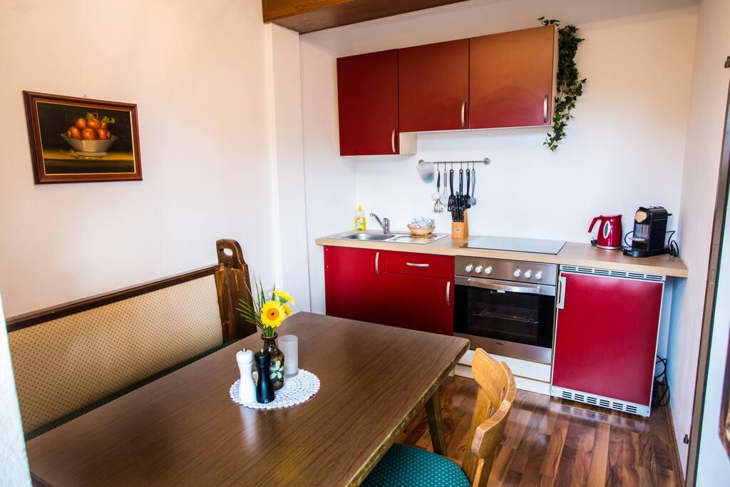 Apartment Kuckuck Küche