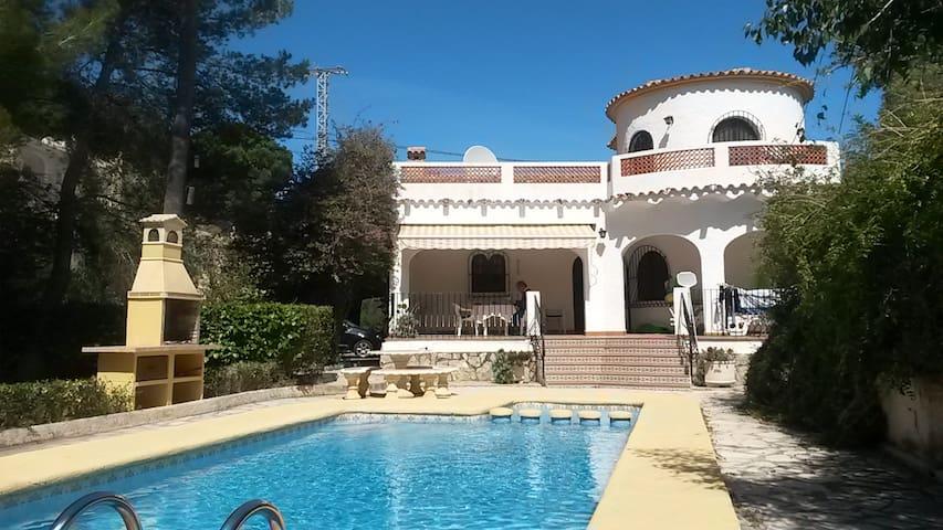Casa Zenia El Portet Moraira 6 adults & 1 child