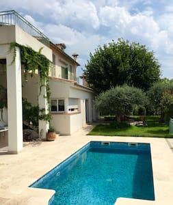 Chambre dans villa avec piscine, colline niçoise - Nice
