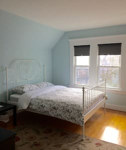 East Rock- Private, Clean, Lovely (The Blue Room) - New Haven - Casa
