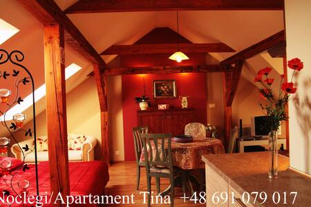 Romantic Apartment with view of the mountains. - Dzierżoniów - 아파트
