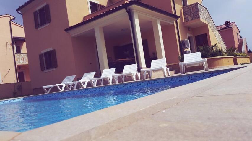 Beautiful Villa Rubina with pool