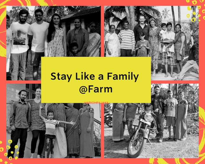 Stay like a Family Member ❤