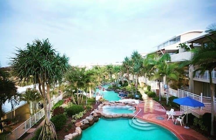 luxury style resort apartment on the beach!