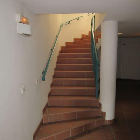 Escalier de la résidence