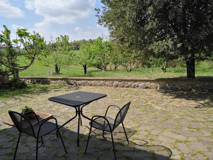 Appartamento con giardino a 3 km dal centro