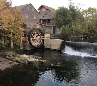 Old Mill Area near river (441) - Pigeon Forge