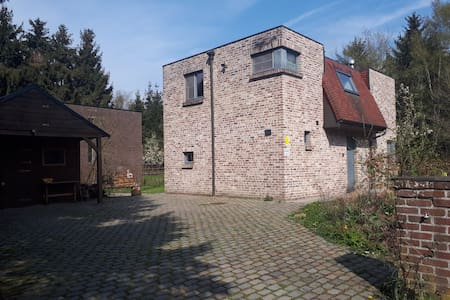 Holiday home in Bruges' wood- and wetland