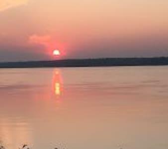 Magnifique vue sur le fleuve st-laurent - Lanoraie - Rumah