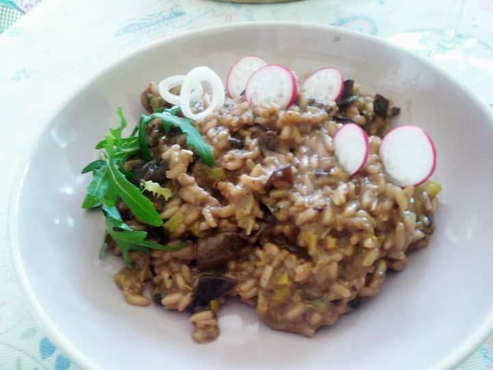 Vegan mellow rice