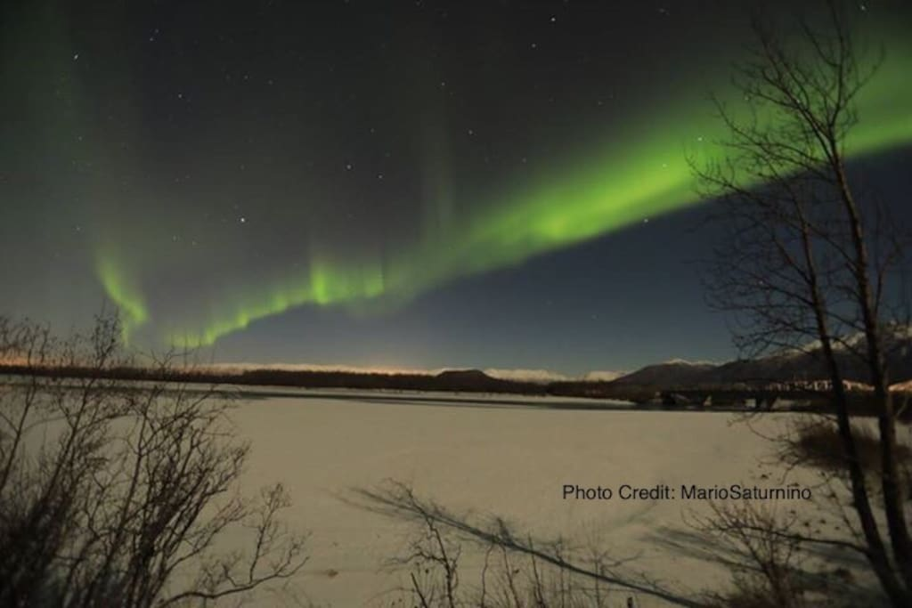 The beautiful Aurora beaming with grace, a peaceful gift.   Photo Credit: M.S.