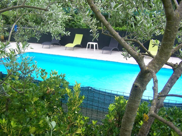 studio gorges du verdon avec piscine
