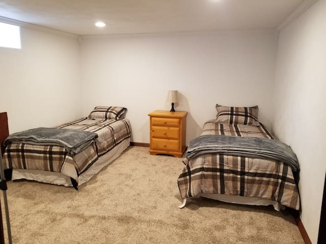 Downstairs Beige Room