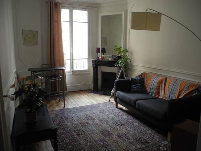Central Paris - 2 rooms calm & cosy flat