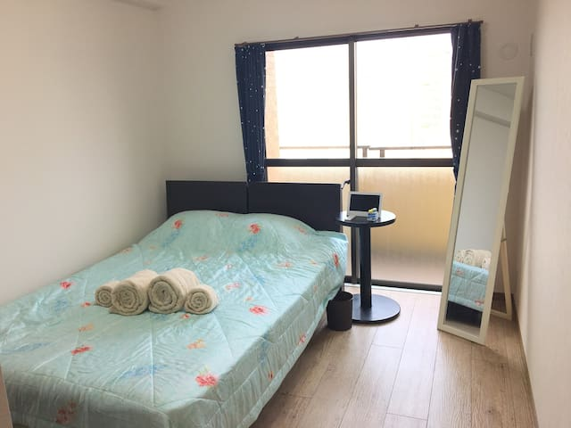 Clean Room with Free Wifi! Near Ohori park station - Fukuoka-shi - Apartamento
