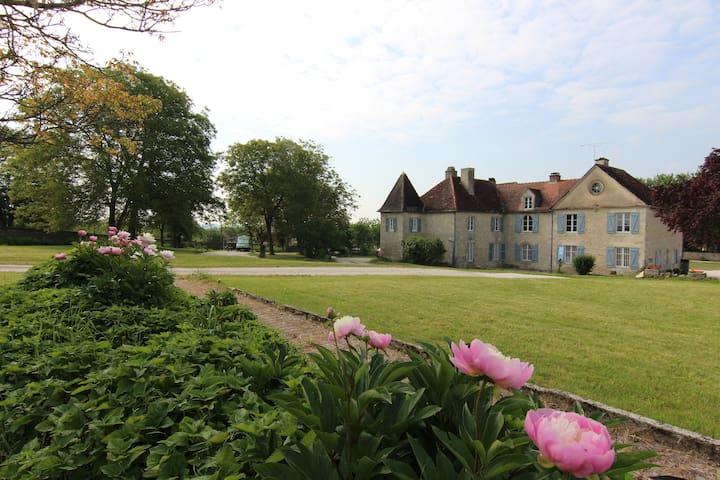 Charmant warm kasteel in de Champagne streek