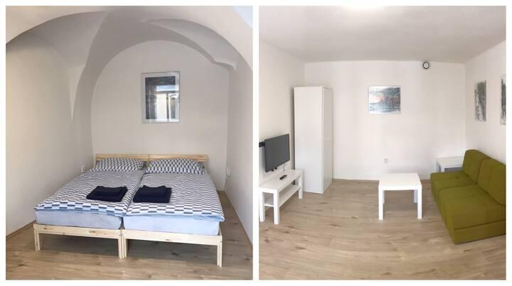 Byt 2+1 v centru, 40 m²