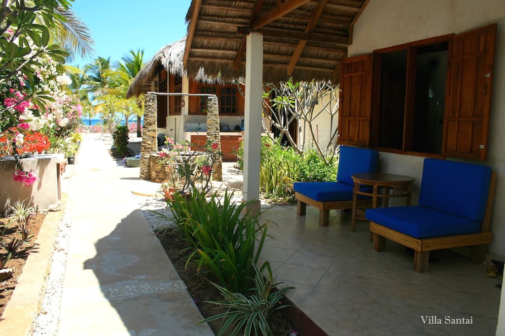bungalow 2 garden view