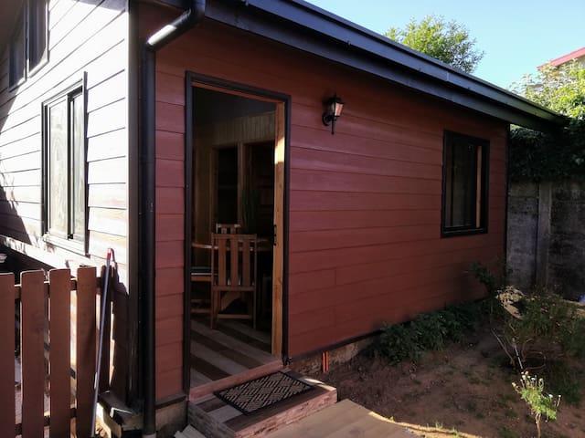 Cabaña acogedora, cómoda y de un entorno atractivo